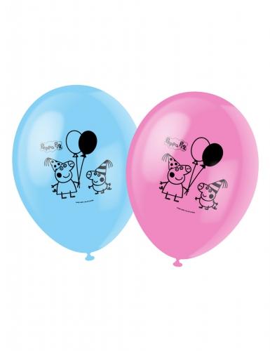 6 Balões Peppa Pig™