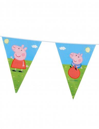 Grinalda bandeirolas Peppa Pig™-1