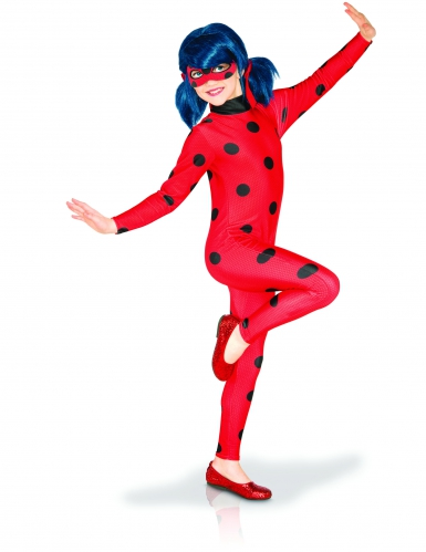 Disfarce clássico Miraculous Lady Bug™ menina coffret-1