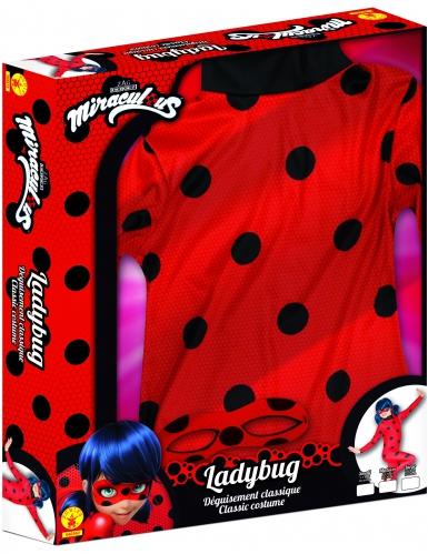 Disfarce clássico Miraculous Lady Bug™ menina coffret-2