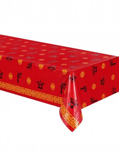 Toalha de mesa tema Ásia (137 x 274 cm)