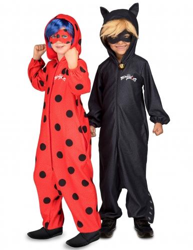 Disfarce de casal Ladybug e Chat Noir Miraculous™ criança