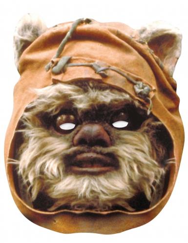 Máscara de cartão Ewok Star Wars™