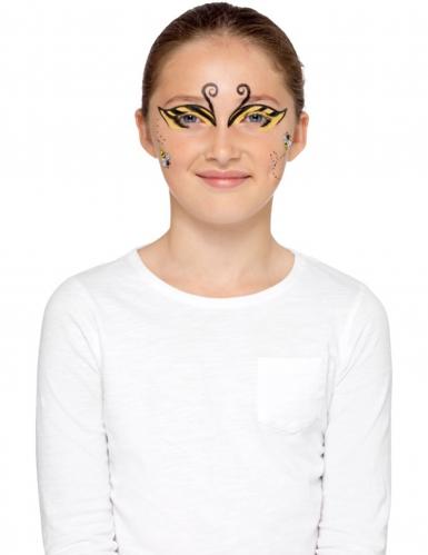 Kit maquilhagem abelha e joaninha criança-11