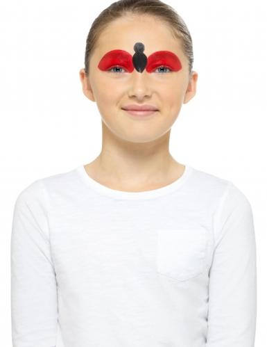Kit maquilhagem abelha e joaninha criança-3