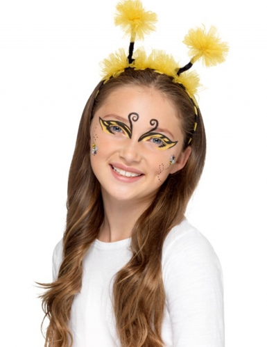 Kit maquilhagem abelha e joaninha criança-6