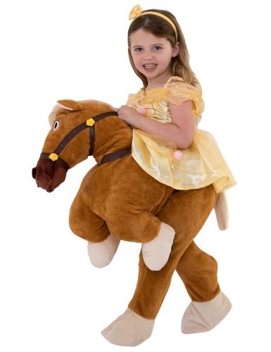 Disfarce Princesa Bela™ à cavalo menina Morphsuits™-1