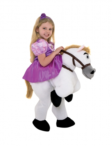 Disfarce Princesa Rapunzel™ com cavalo menina Morphsuits™-1
