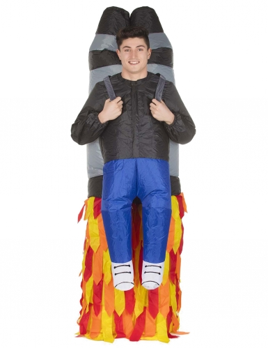 Disfarce homem levantado pelo Jet Pack adulrto Morphsuits™