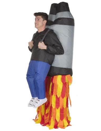 Disfarce homem levantado pelo Jet Pack adulrto Morphsuits™-1