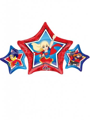 Pequeno balão estrela alumínio DC Super Hero Girls™