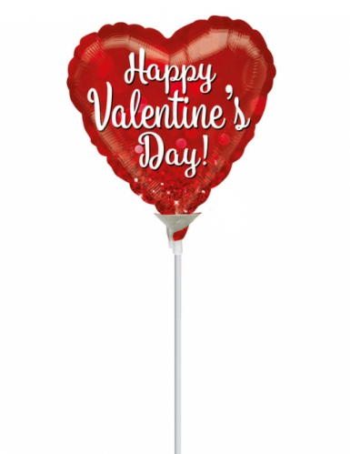Balão alumínio coração São Valentim
