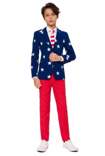 Fato Mr. USA adolescente Opposuits™