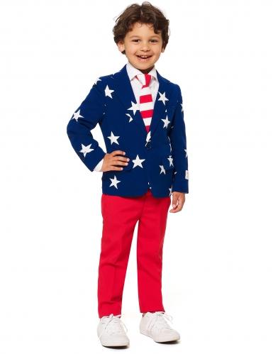 Fato Mr. USA criança Opposuits™