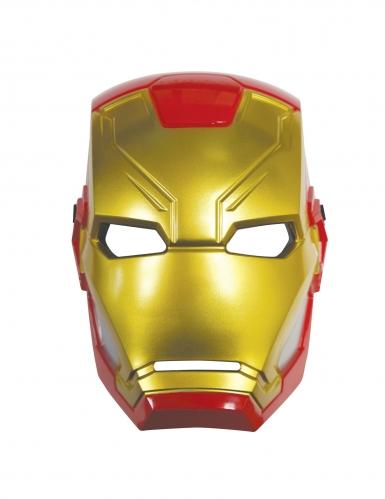 Meia máscara de plástico Iron Man™-1