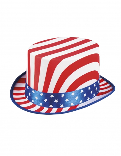 Chapéu alto USA de luxo adulto-1