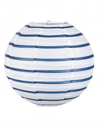 Lanterna de papel marinho 25 cm