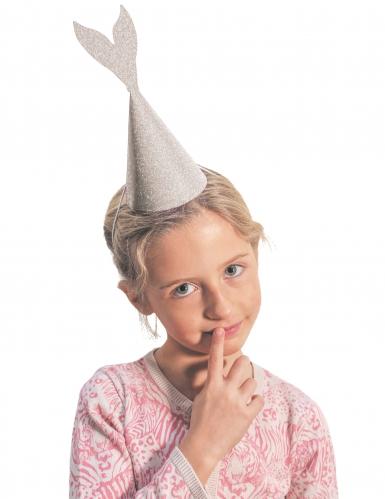6 chapéus de serei cor-de-rosa e cinzento brilhante 21 cm