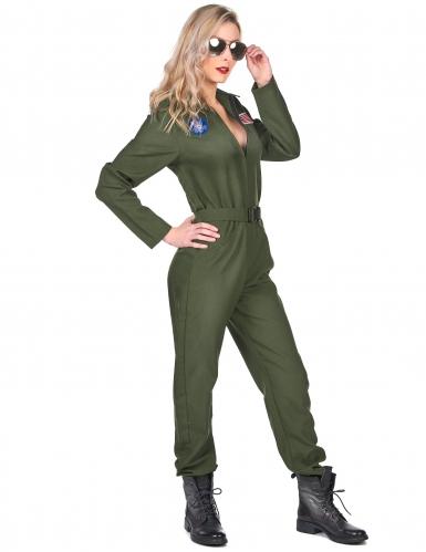 Disfarce piloto de avião mulher-1