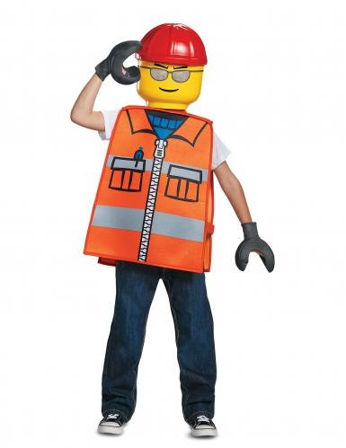 Disfarce trabalhador da construção LEGO® criança