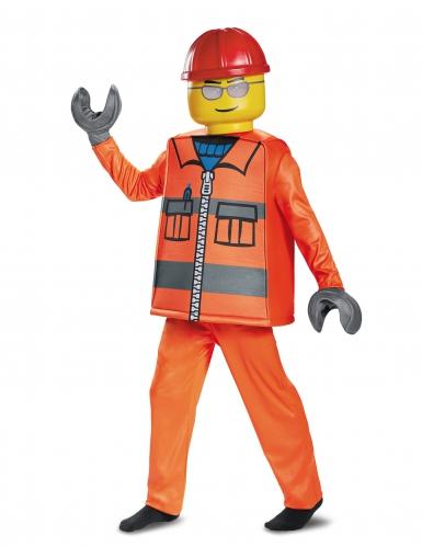 Disfarce luxo trabalhador da construção LEGO® criança