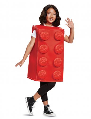 Disfarce bloco Lego® vermelho criança