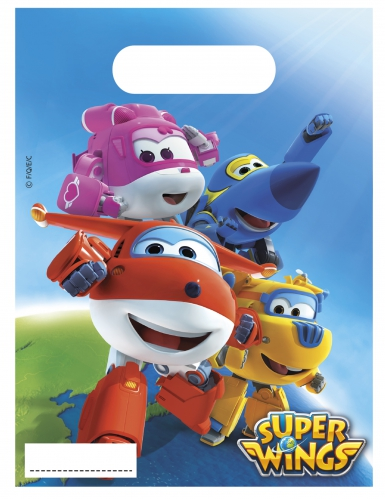 6 Sacos de festa Super Wings™