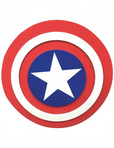 Escudo em espuma Captain America™ 30 cm