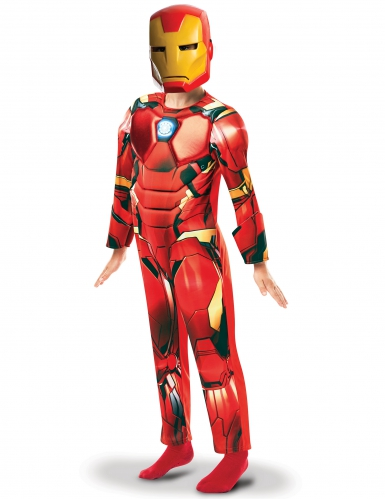 Disfarce luxo Iron Man™ série animada menino