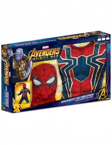 Coffret de luxo - Iron Spider Infinity War™ menino-1