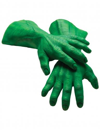 Luvas gigantes látex Hulk™ adulto