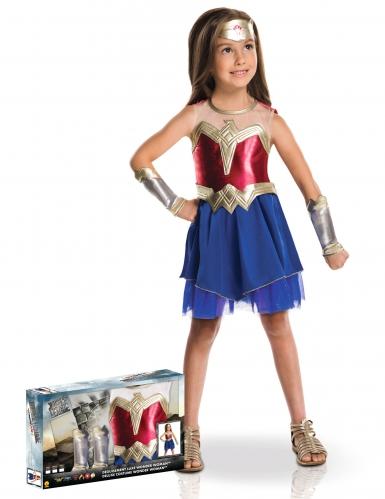 Disfarce luxo Wonder Woman™ menina - Coffret