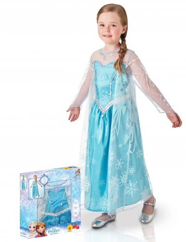 Disfarce luxo Elsa Frozen™ menina coffret