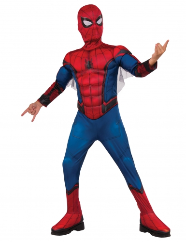 Disfarce luxo Spider-Man™Homecoming menino