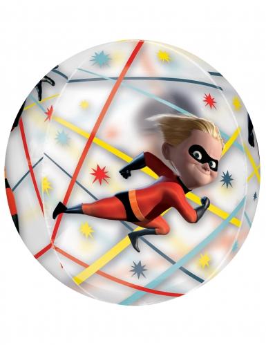 Balão alumínio redondo The Incredibles : Os Super-Heróis™-1