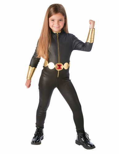 Disfarce luxo Viúva Negra Avengers™ menina - Os Vingadores
