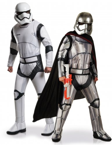 Disfarce de casal Stormtrooper e Captain Phasma Star Wars™