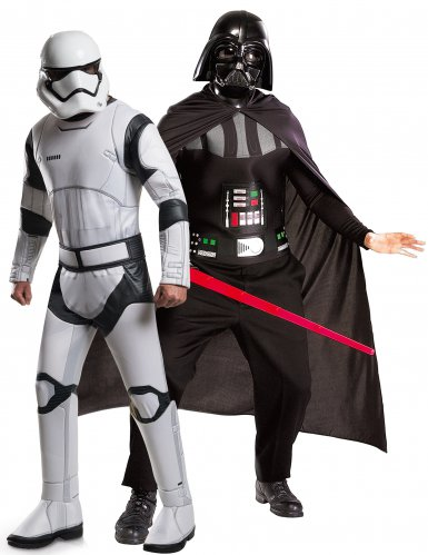 Disfarce de casal Darth vader e Stormtrooper - Star Wars™