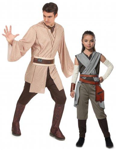 Disfarce de casal Rey e Jedi - Pai e filla - Star Wars™
