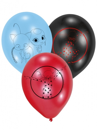 6 Balões de látex Ladybug™