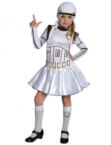 Disfarce Stormtrooper™ Star Wars™ menina