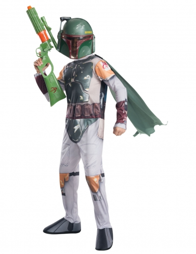 Disfarce Boba Fett™ Star Wars™ menino