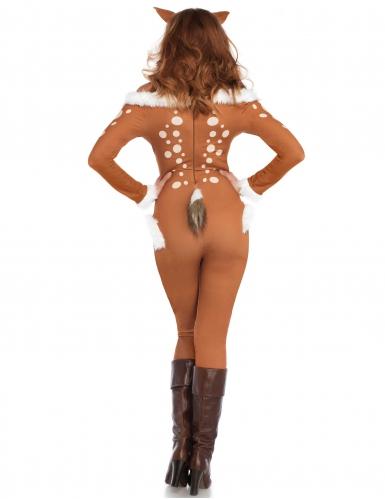 Disfarce macacão cervo sexy mulher-1