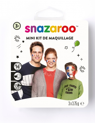 Mini kit adepto França Snazaroo™ 3 x 2 ml