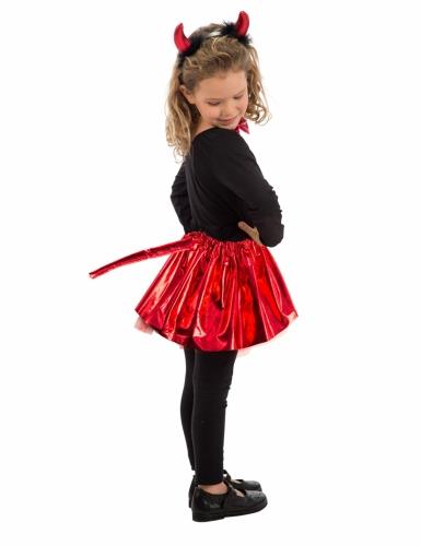 Kit diabinha vermelho com laço menina-1