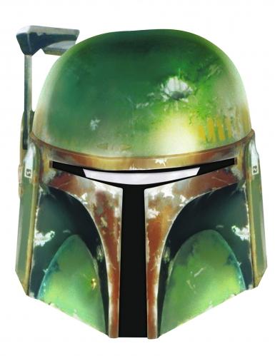 Máscara Boba Fett Star Wars™ de cartão adulto