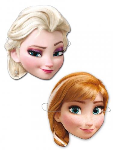 6 Máscaras de cartão Frozen™