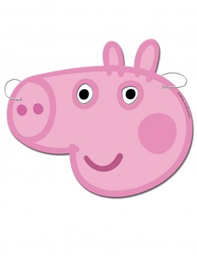 6 Máscaras de cartão Peppa Pig™