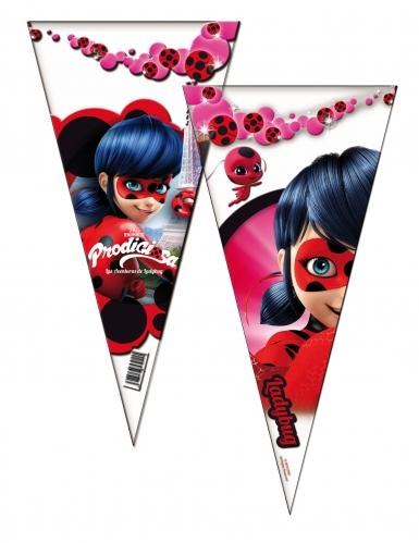 6 Sacos de festa Ladybug™ 20 x 40 cm