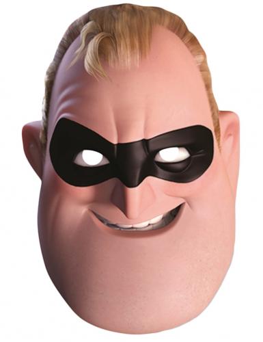 Máscara de cartão Beto Pera - The Incredibles : Os Super-Heróis™ adulto